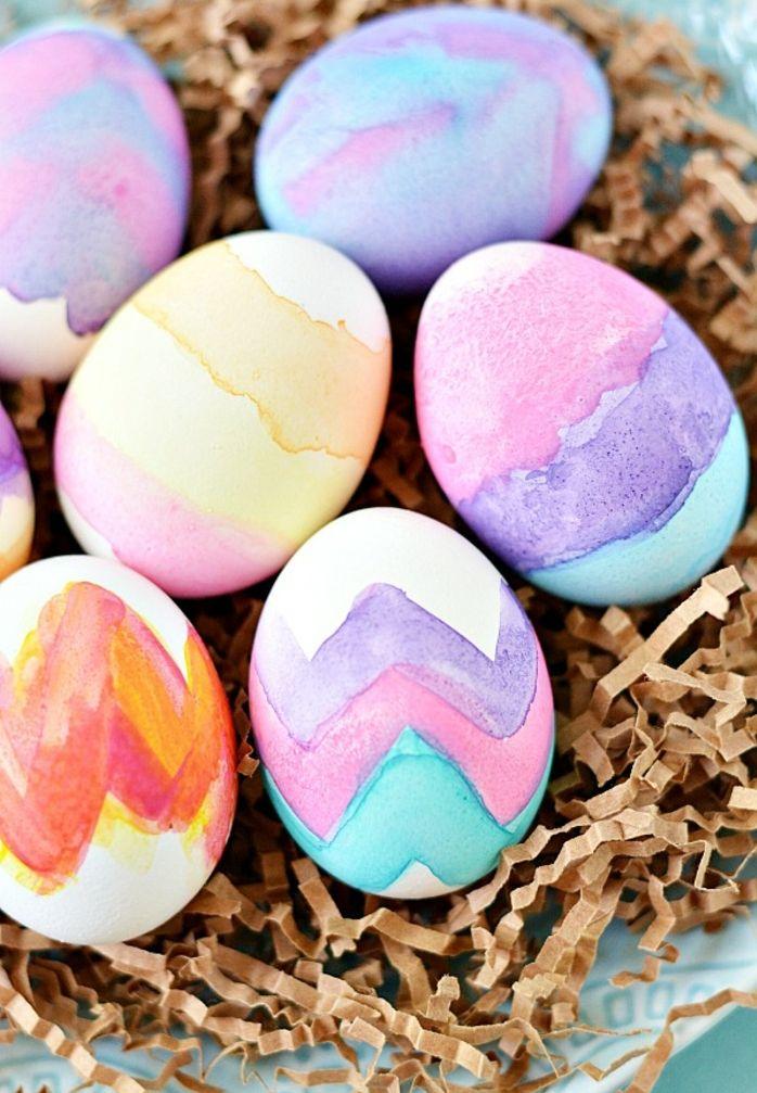 ▷ 1001 + ideas sobre cómo decorar huevos de pascua Manualidades - huevos decorados