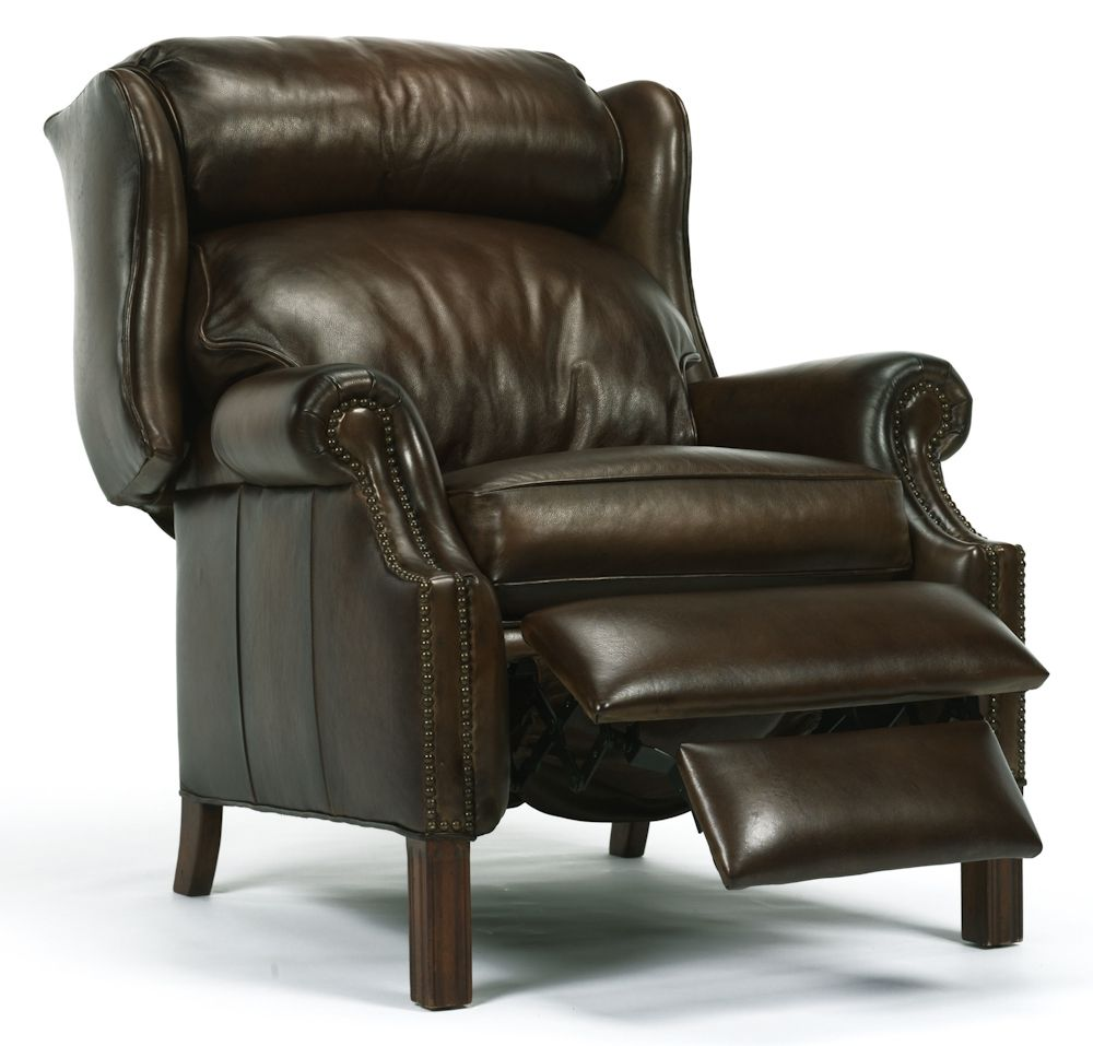 Wingback Recliner Chairs  Flexsteel Wing Back Leather Recliner Interesting Living Room Recliners Review