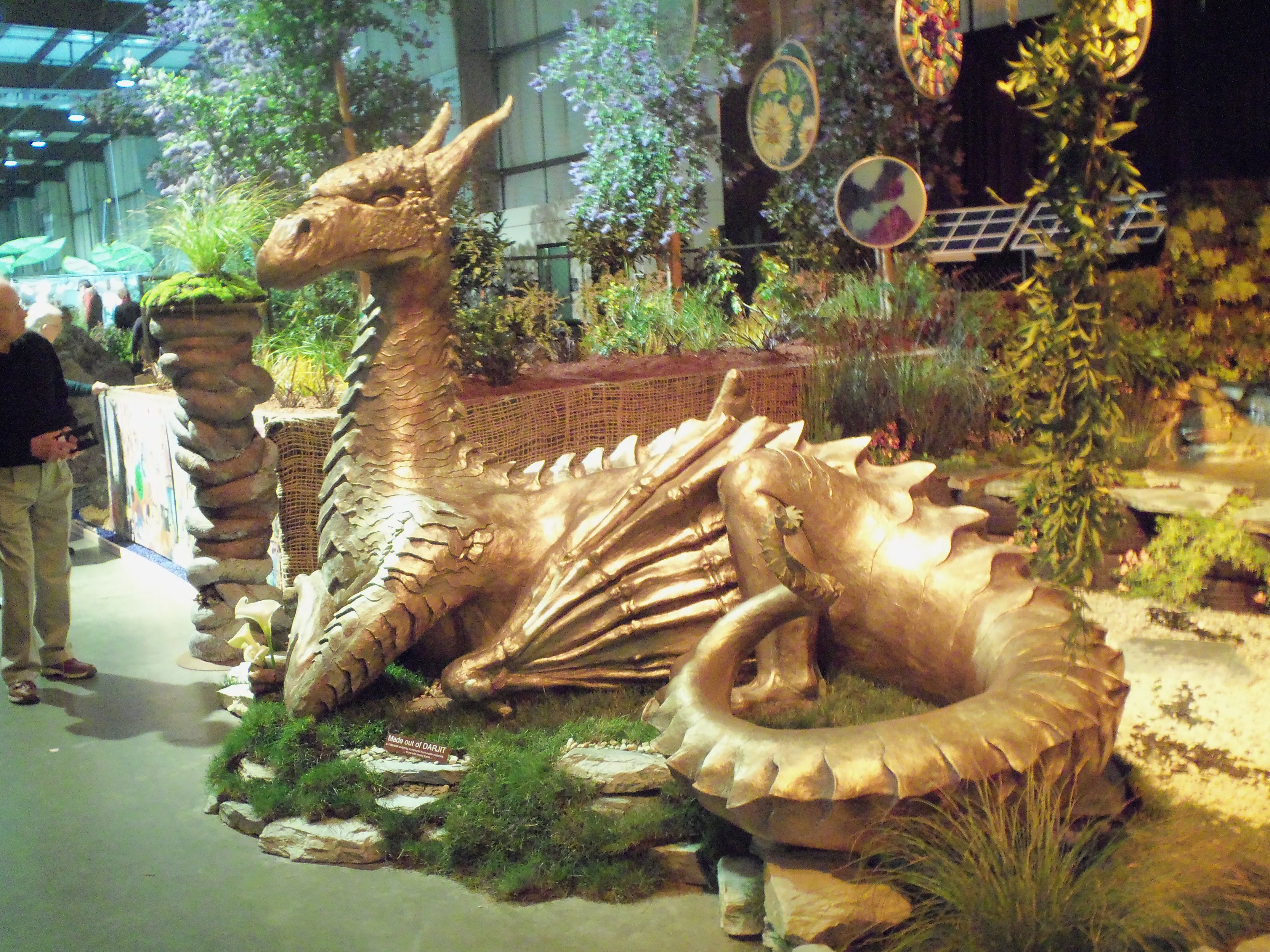 An example of amazing artwork and garden design at the 2012 show ...