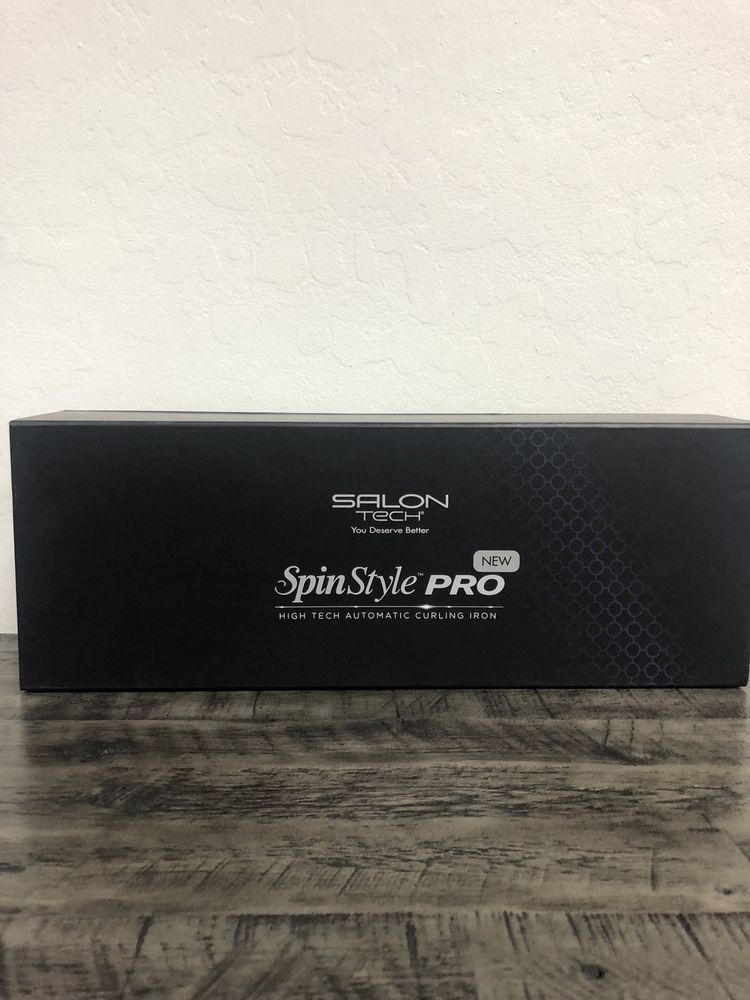 Spin Style Pro : style, Style, Curling, Ion.1, Iron,, Curls,, Salons
