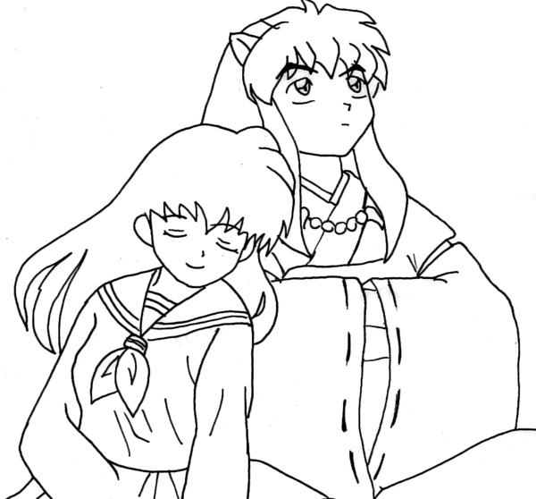 Inuyasha and Kagome together by Wolven-Sorceress on DeviantArt ...