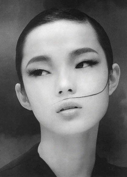 DIYable beauty: fashionable facepaint #face