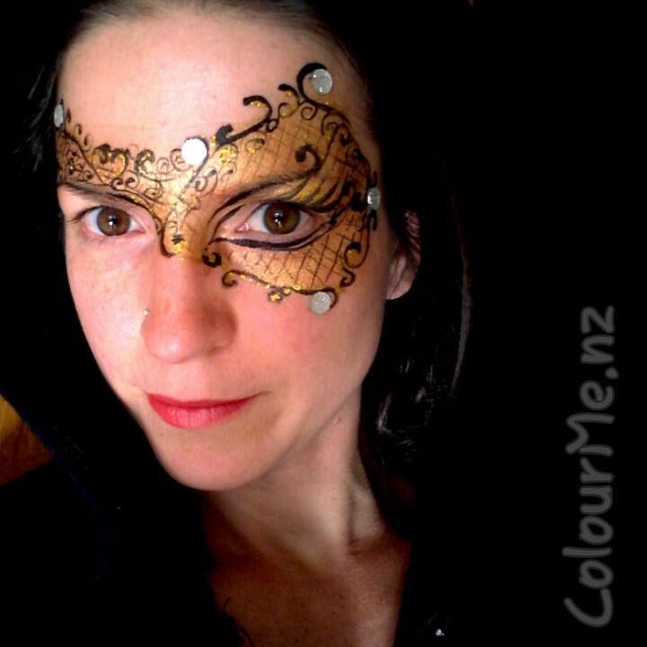 Masquerade junechallenge inspirationtopaint colourmenz