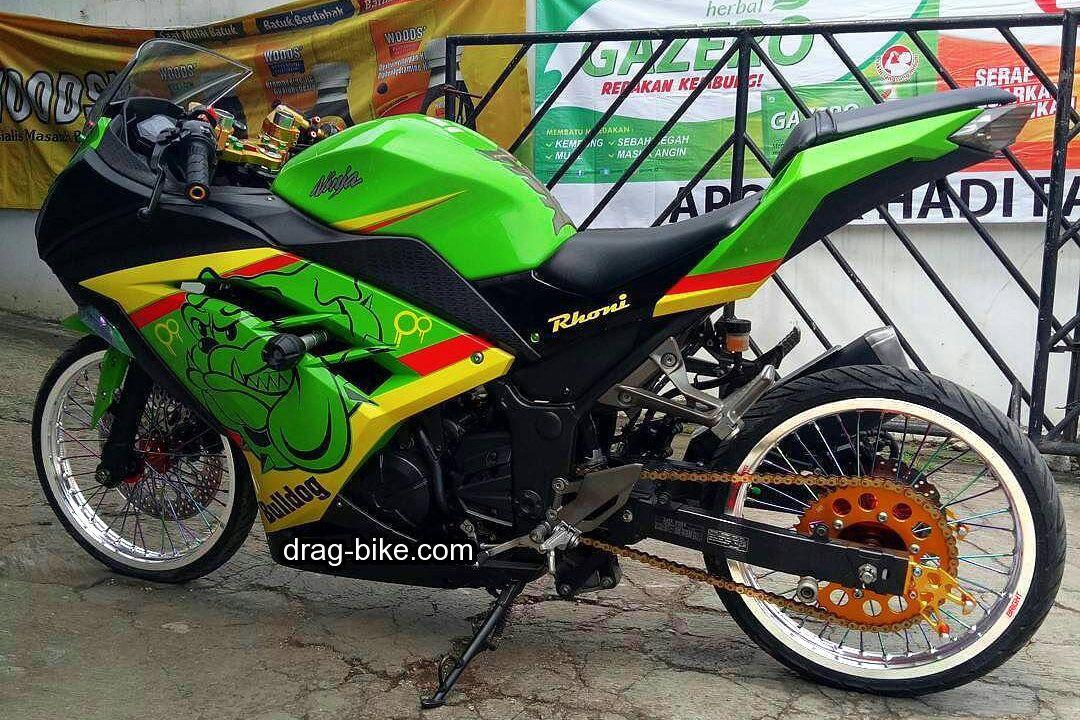 Modifikasi Motor Ninja 250 Fi Jari Jari Ninja Motor Kawasaki