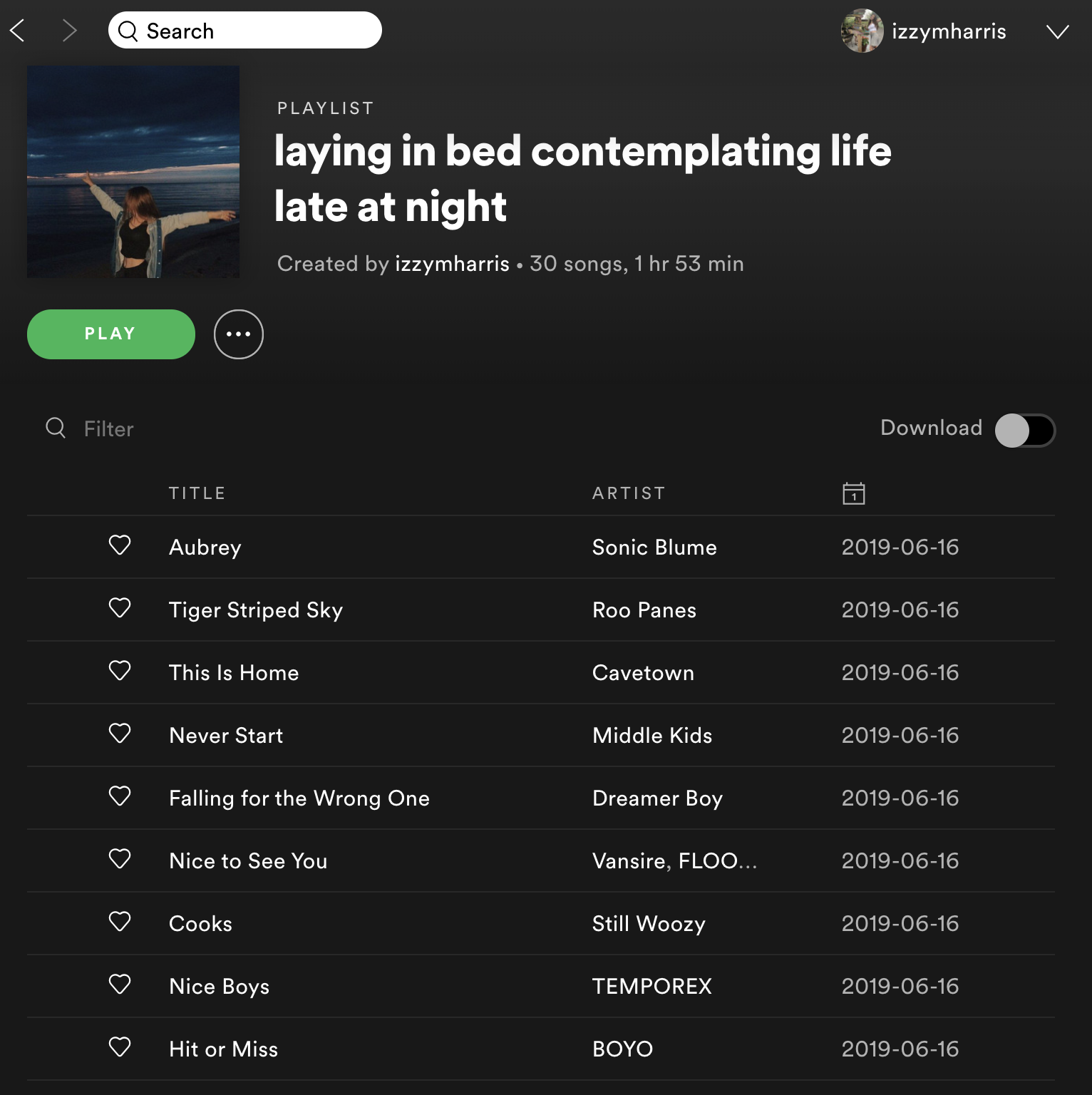 Spotify Playlist In Your Feelings Laying In Bed Contemplating Life Late At Night Vibe Song Song Playlist Playlist