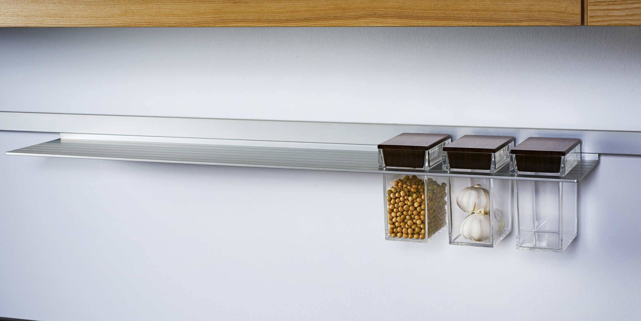 Küchen Aufbewahrungsboxen Poggenpohl Accessories Wall System With In Shelf Integrated