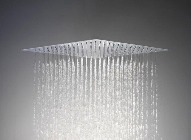 Flush Mount Shower Head With Images Ceiling Shower Head Large