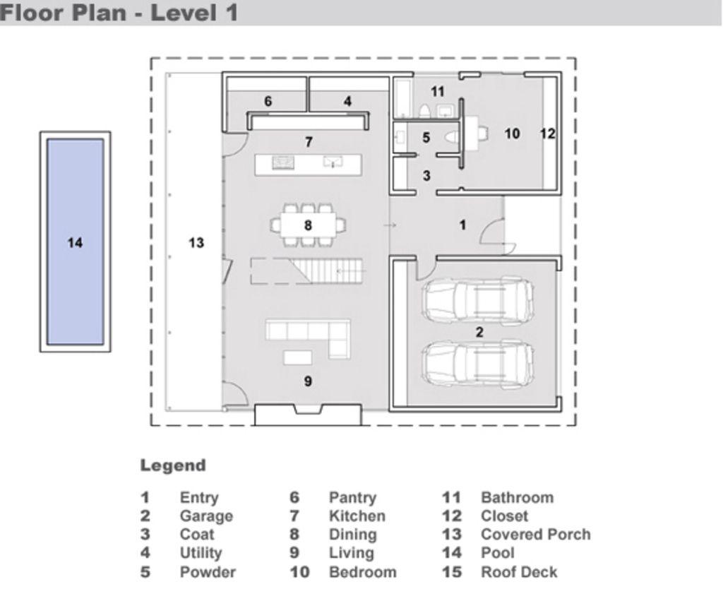 Houseplans Com Modern Main Floor Plan Plan 491 3 House Plans Floor Plans Modern Style House Plans