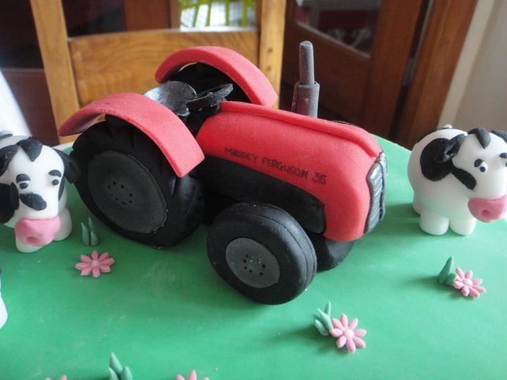 Massey Ferguson 35 Tractor Cake Cake Tractor birthday cakes and