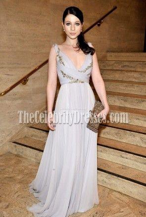 Michelle Trachtenberg Marchesa Evening Dress 2011 School Of American Ballet Winter