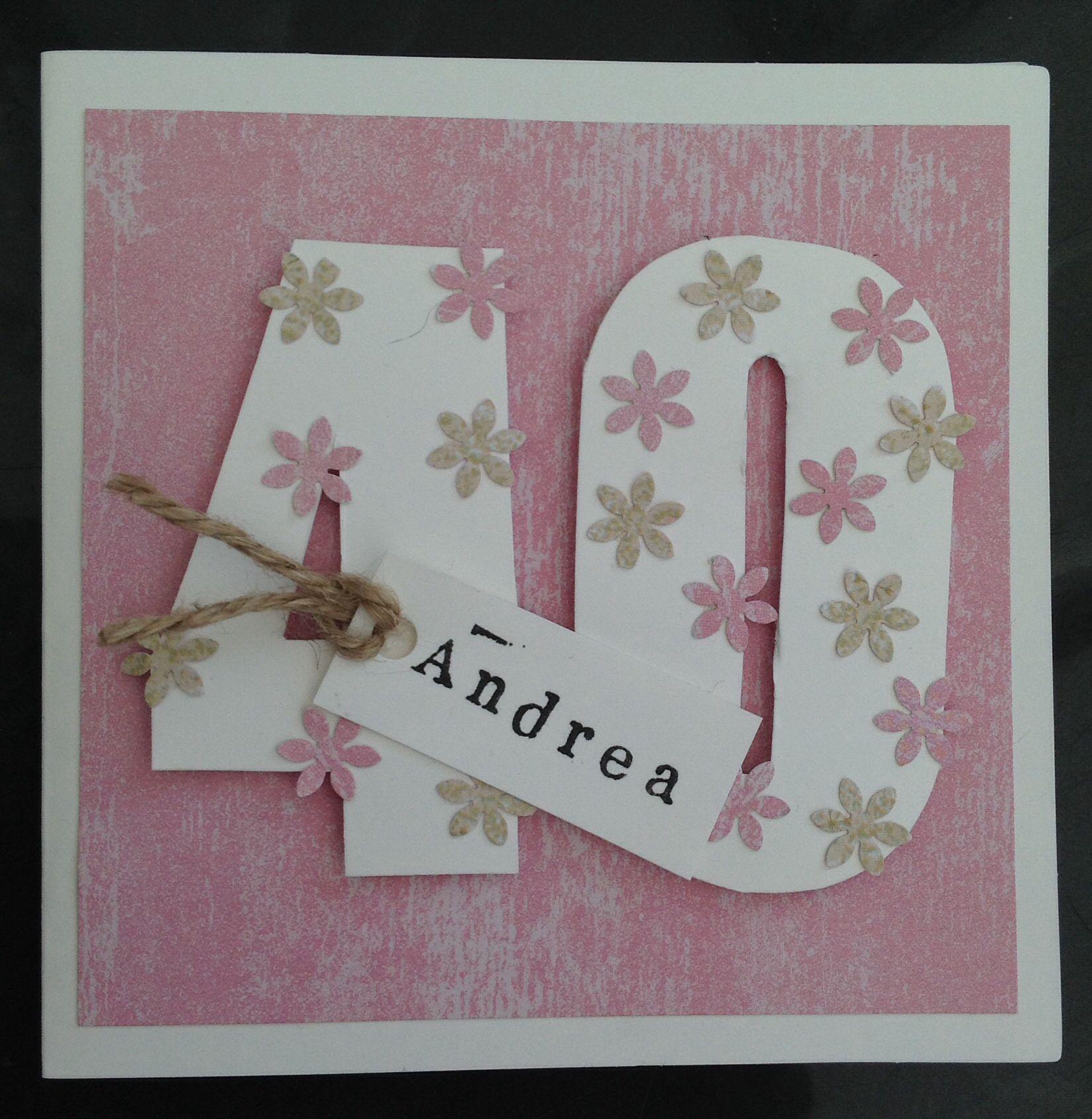 30th Birthday Card cut out with Scan n Cut – Handmade 30th Birthday Cards