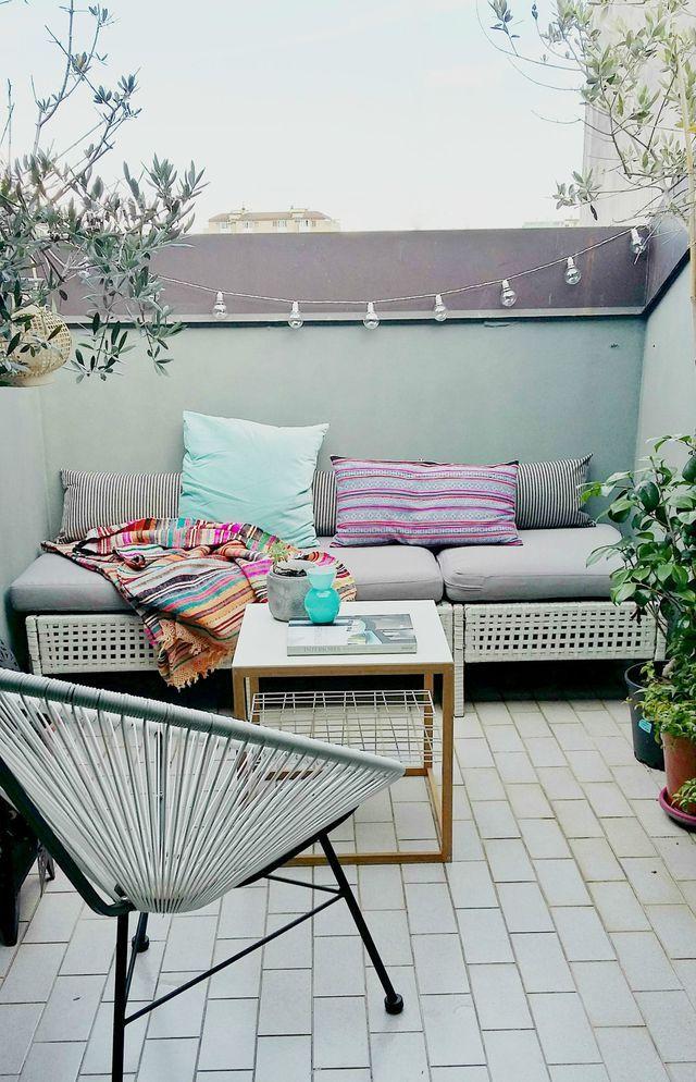 Jeune Terrasse : 20 photos pour s'inspirer | Petite terrasse, Terrasse PS-74