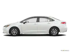 2020 Toyota Corolla Hybrid Le Sedan Honda Insight Toyota