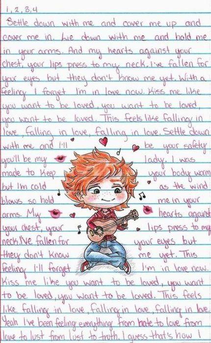 Pin Van Ilse Jaaltink Op Ed Sheeran Ed Sheeran Muziek Tekenen