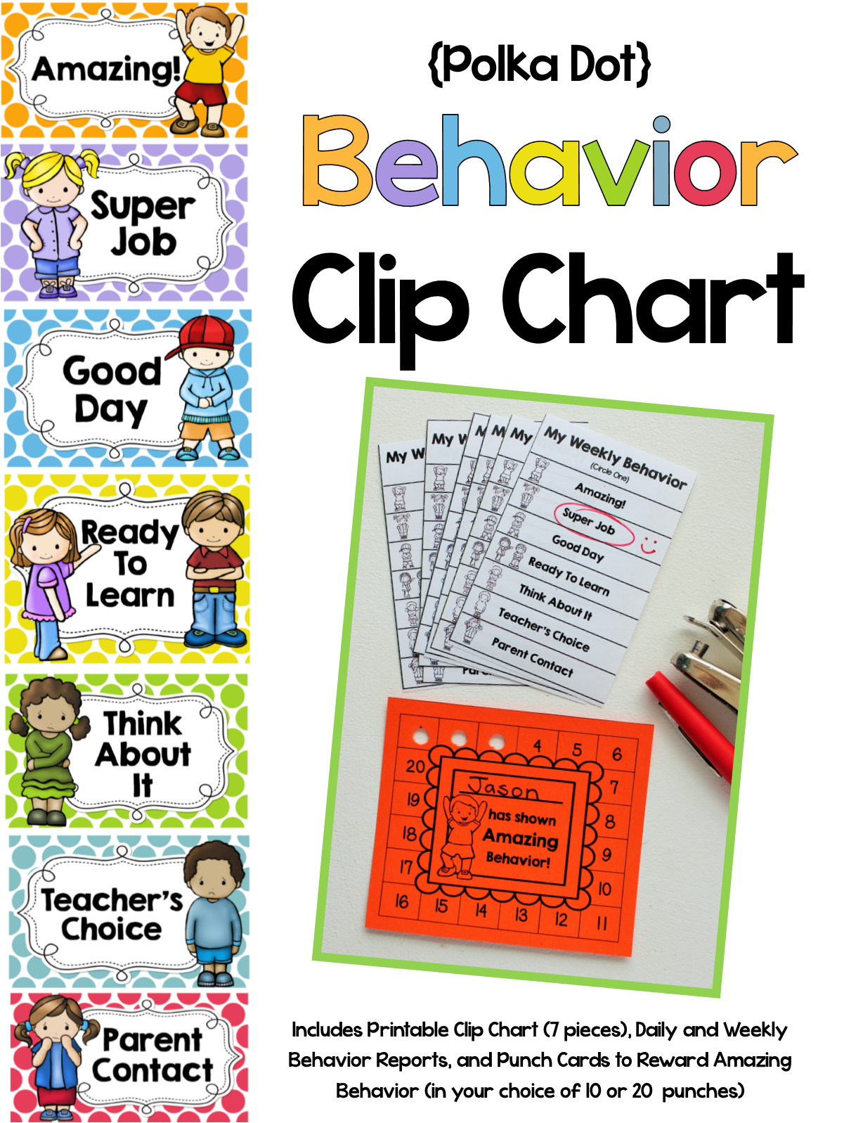 Behavior Clip Chart System And Another Big Sale