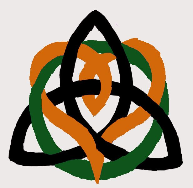 Brother Sister Celtic Knot In Different Colors Though Tattoos