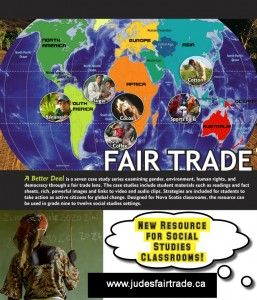 Learn about Fair Trade with JUDES!