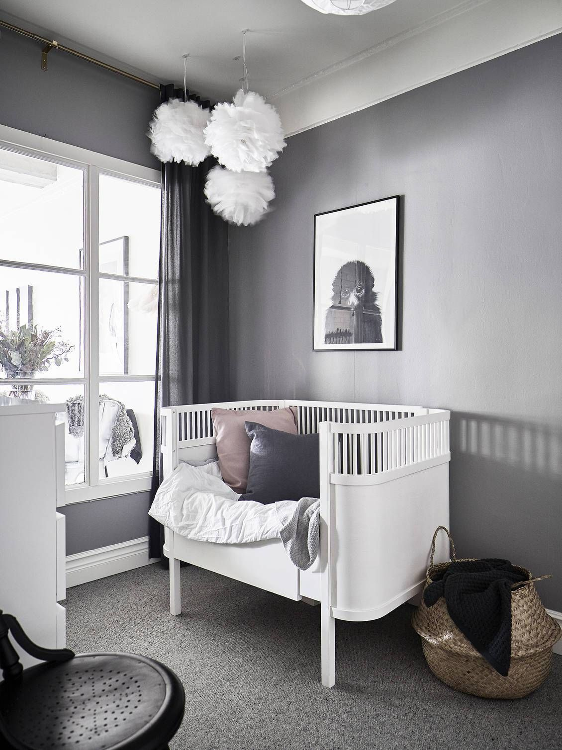 Une Version Scandinave Du Loft New Yorkais Planete Deco A Homes World Babysovrum Une Version Scandinave Du Loft Ne Babyzimmer Kinder Zimmer Inneneinrichtung
