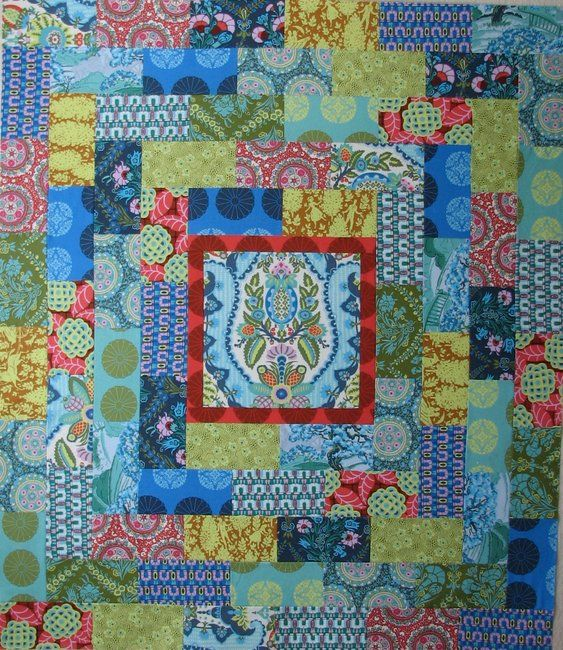 """Cameo (Amy Butler) Quilt Kit!   54"""" x 63"""", $52.75"""