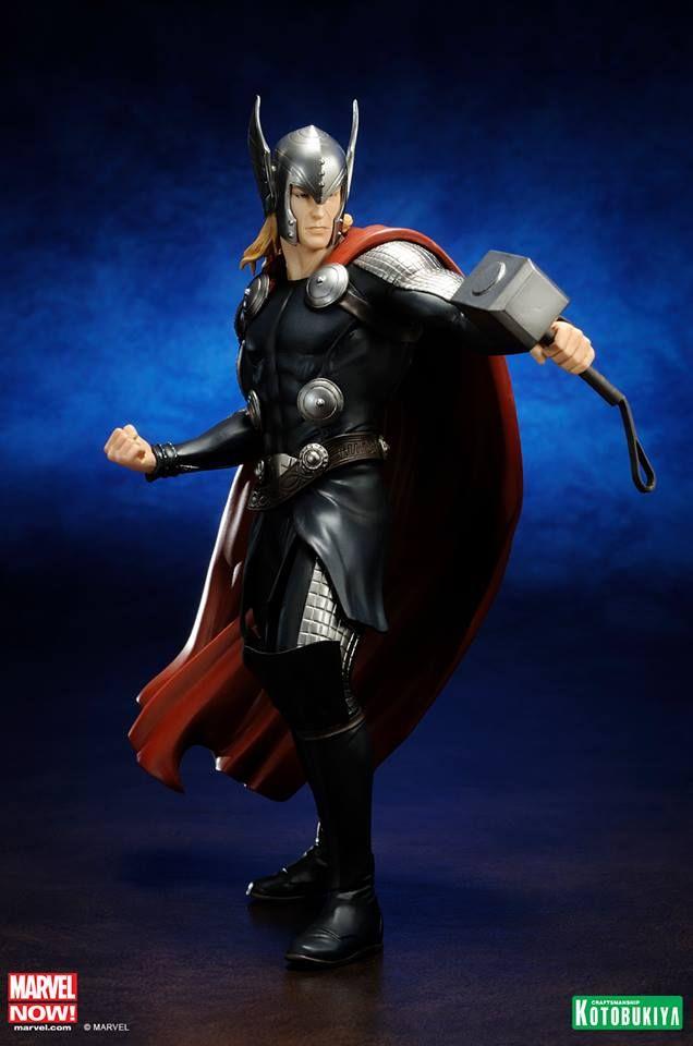 Kotobukiya Marvel Now Statue *NEW ~ Factory Sealed Thor Avengers ArtFX