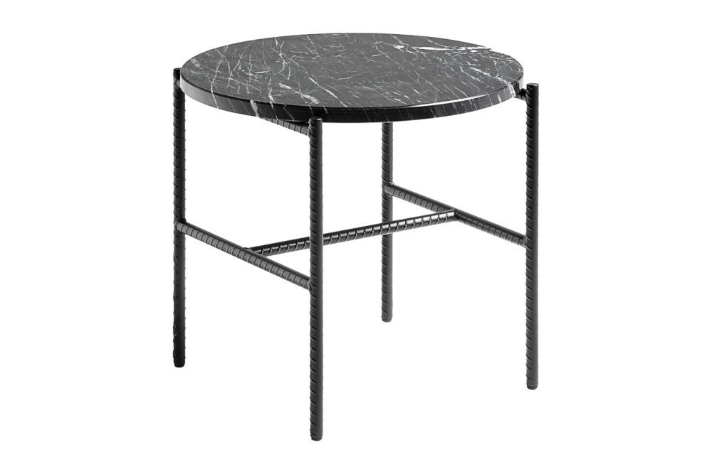 Rebar Round Side Table From Hay In 2020 Round Side Table