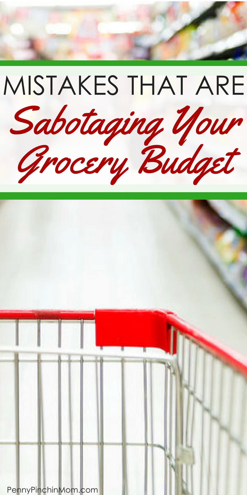 Saving money on groceries: your grocery budget how much to budget for groceries - help my grocery budget - save money on groceries - grocery savings tips - pay less for groceries via @PennyPinchinMom