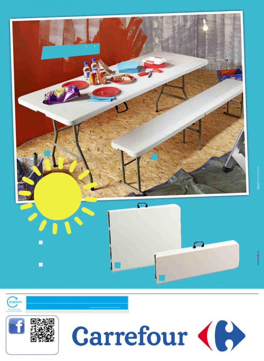 Table De Jardin Pliante Carrefour Skateboard