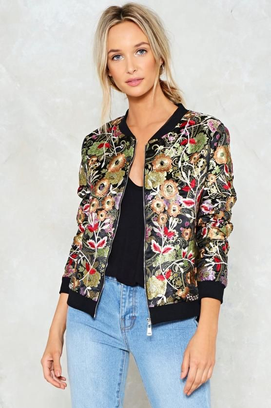 b839eb04cd02 I m normally not a floral kind of girl but I like that this one is dark  florals and stands out in a cool way- can be paired with basics and it s  its ...
