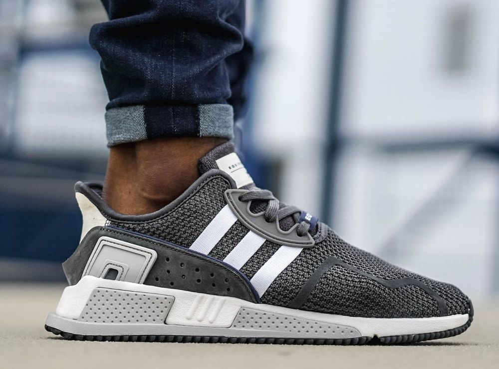 buy online 242ac be688 New ADIDAS EQT Support ADV Cushion Sneaker Mens grey white ...