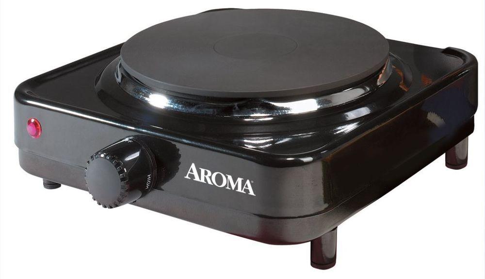 hot plate black electric cooking heat burner black easy carry travel rh pinterest com