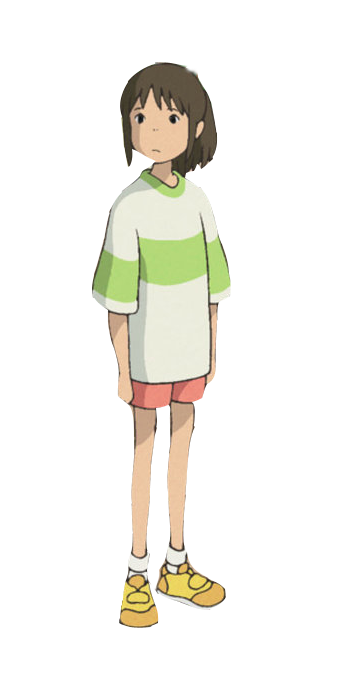 Chihiro Png Png 343 674 Pixels Spirited Away Cosplay Spirited Away Characters Halloween Town