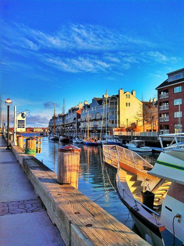 Harbor. Commercial St. -- Portland, Maine | Portland, Maine | Pinterest | Portland maine ...