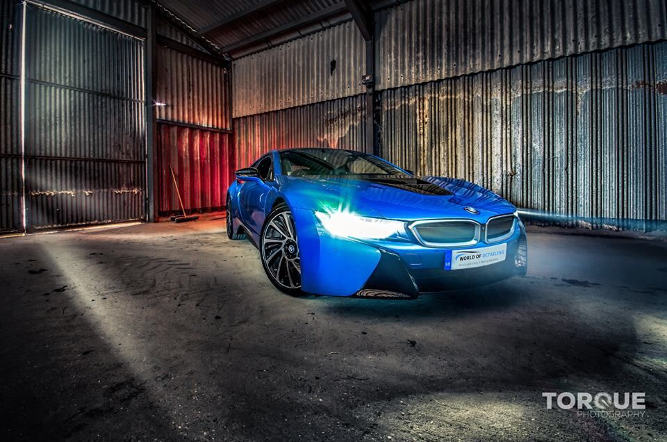 Bmw I8 Awesome Car To Drive Nice To Work With All Swissvax Products