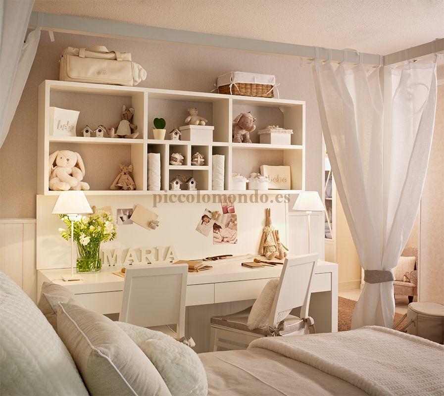 Mobiliario infantil piccolo mondo coleccion - Mobiliario habitacion bebe ...