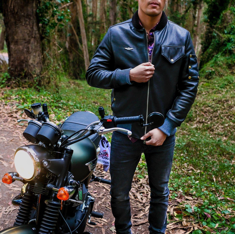 The Aviator Jacket | Aviator jackets, Jackets, Custom leather