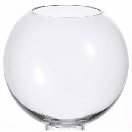 Glass Sphere Vase 21.5cm   Domayne Online Store