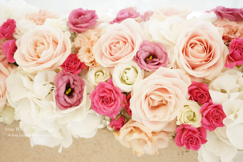 Romantisch Zarter Blutentraum Hochzeitsblumen Hochzeitsgesteck Blumengsteck Weddingflowers Roses Www Innawiebe Hochzeitsgestecke Hochzeitsblumen Hochzeit