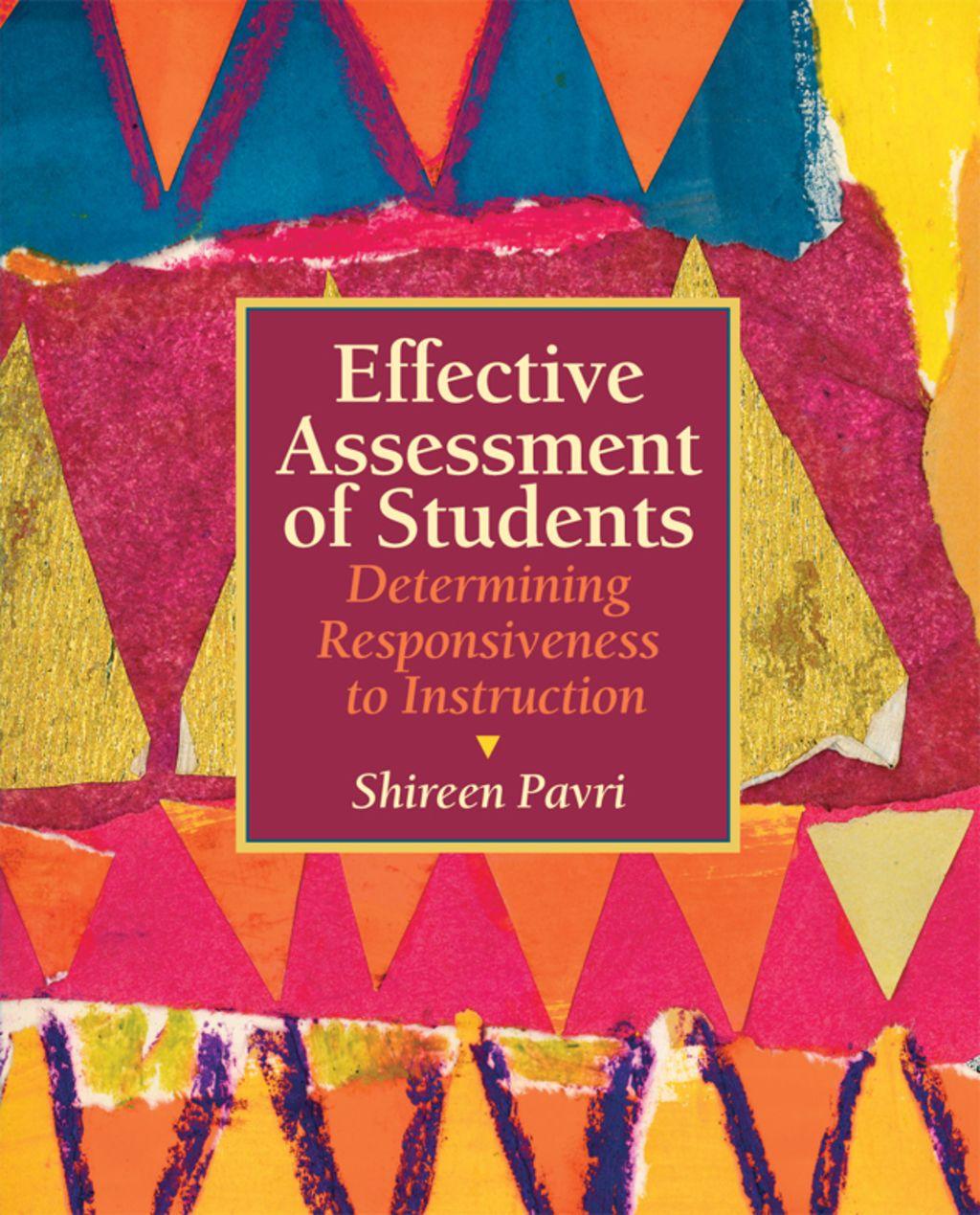 Effective Assessment Of Students Ebook Rental
