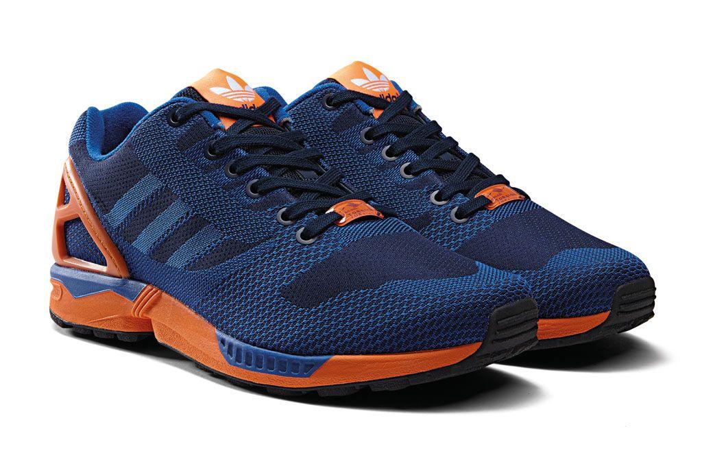best sneakers 579ef cf0c3 adidas-zx-flux-weave-blue-orange