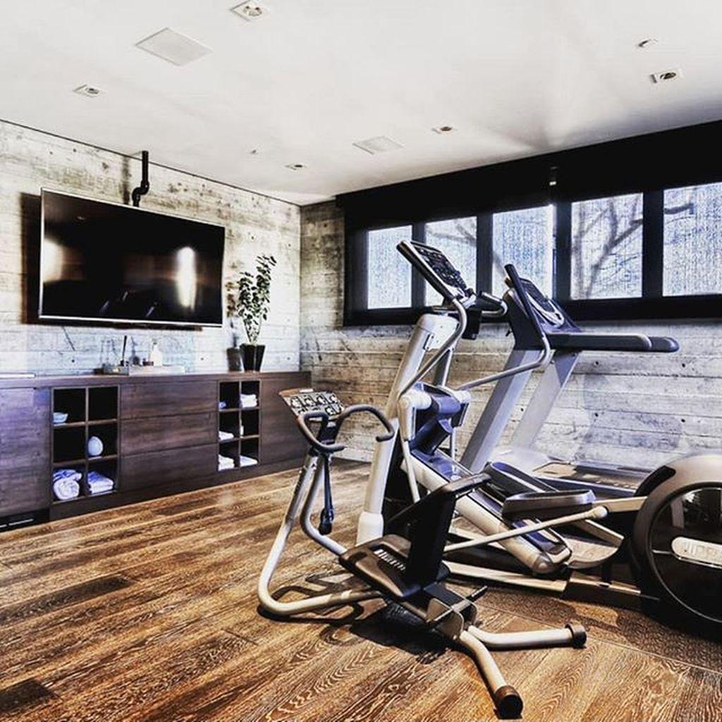 Home Gym Design Ideas Basement: 35 Nice Home Gym Design And Decor Ideas