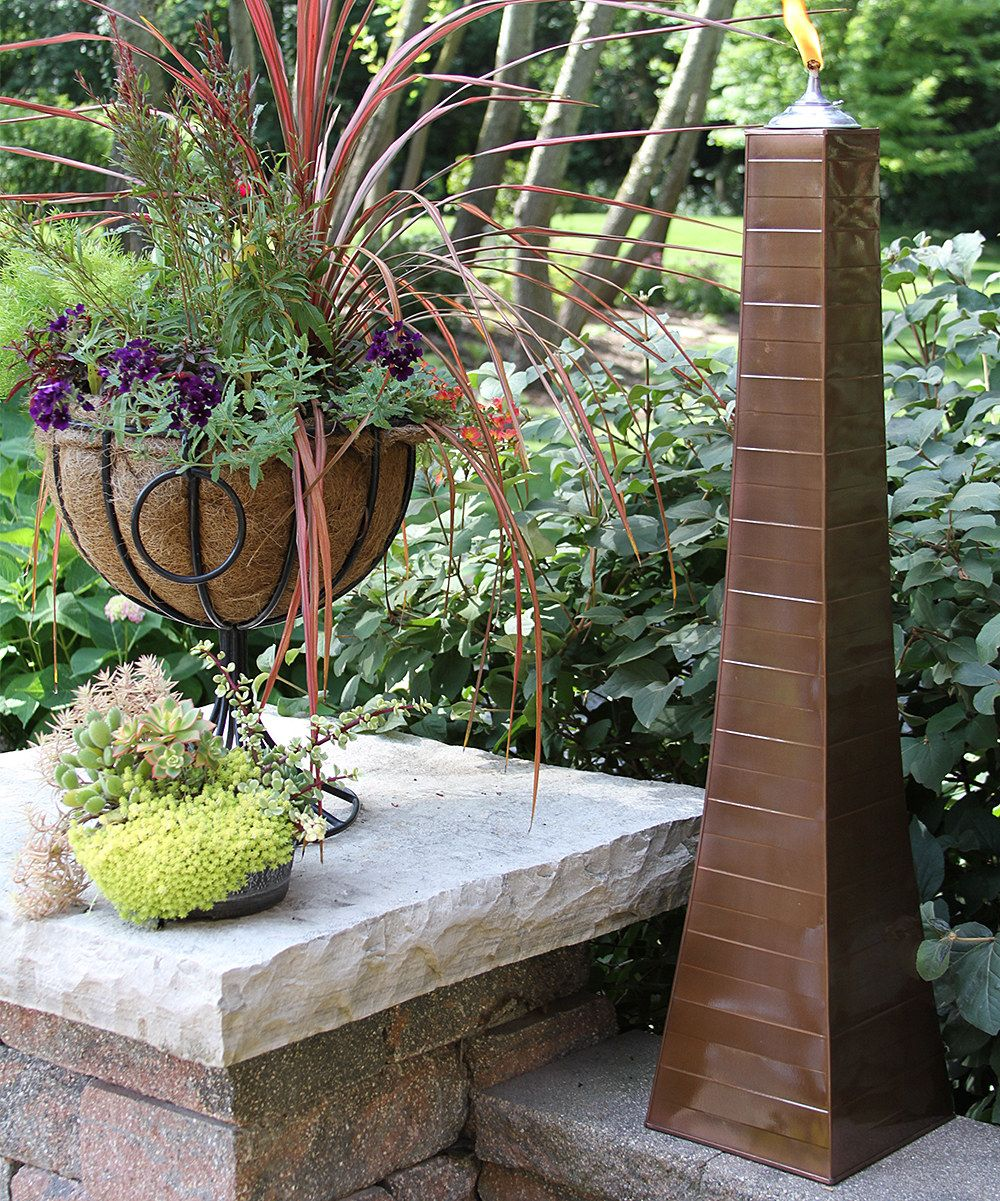 Outdoor Interiors Copper Oil Torch - Set of Two | zulily
