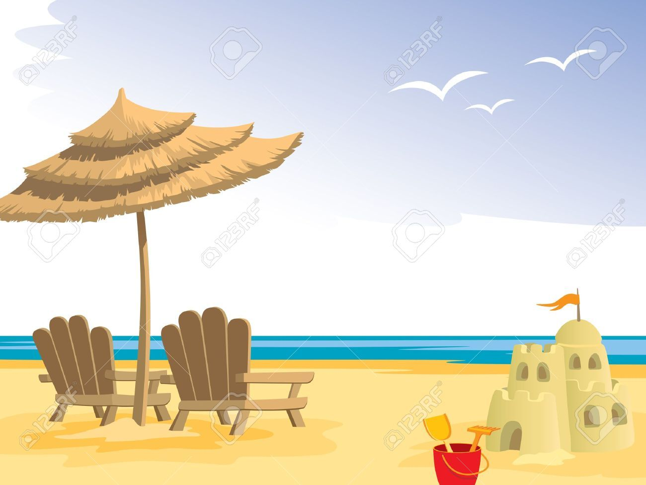 Beach chair with umbrella painting - Find This Pin And More On Paintings Summer Beach Chairs Umbrella