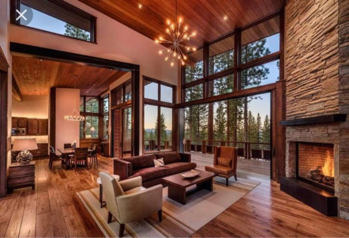 airy and cozy rustic living room designs ideas 24 rustic on modern cozy mountain home design ideas id=17900