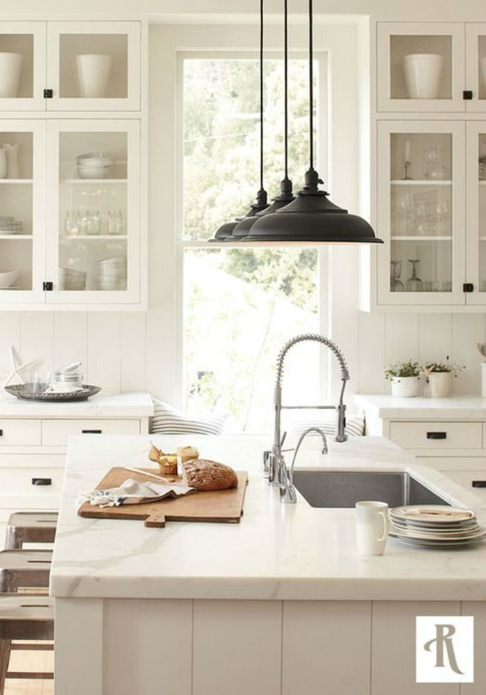 Modern Farmhouse Kitchen Decorating elements of a modern farmhouse home | finding decorating ideas and