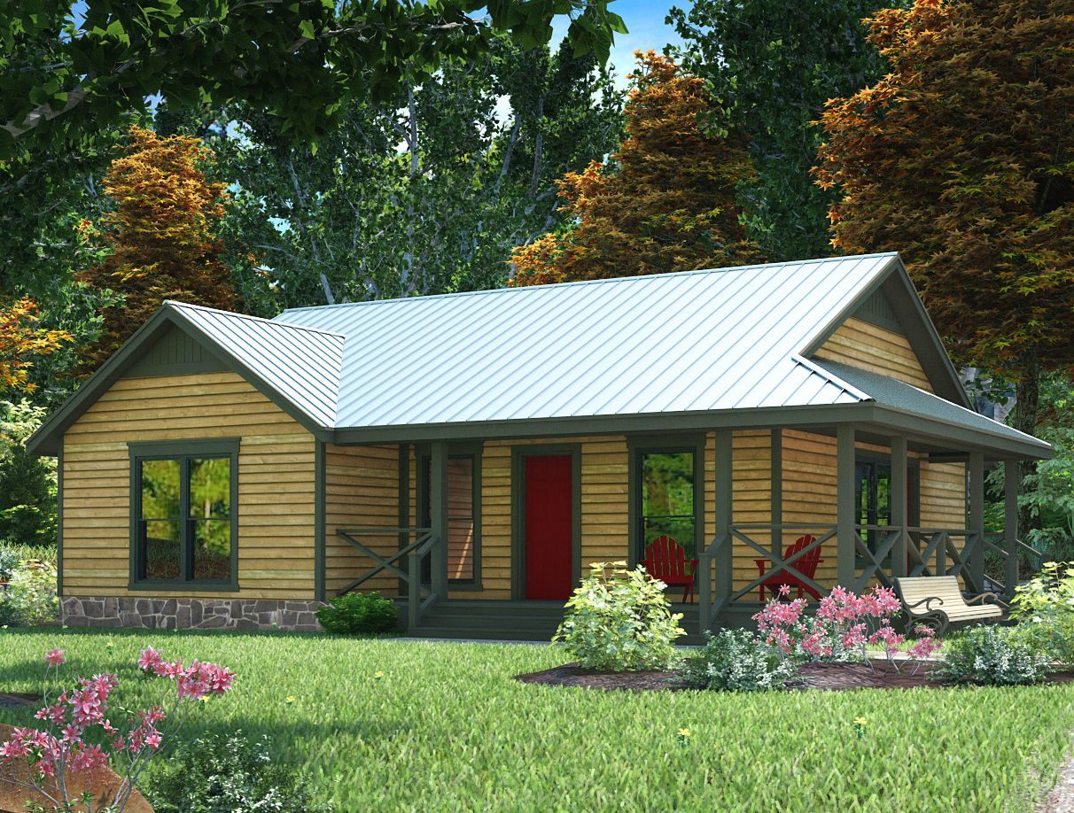 Tiny Home Designs: Plan 31047D: Compact Country-Style House Plan