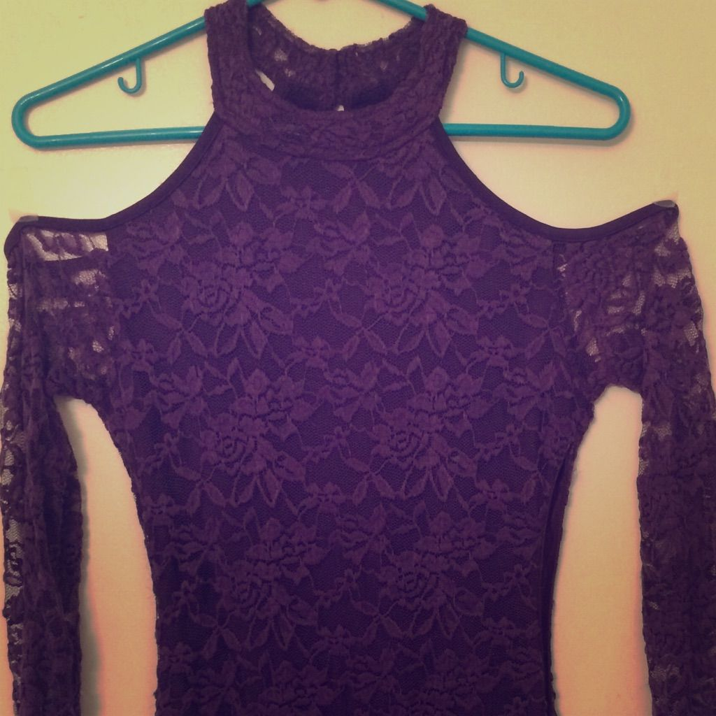 Lace dress purple  Fredericks Of Hollywood Purple Lace Dress  Purple lace and Products