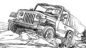 Image Result For Jeep Sketch With Images Jeep Drawing Jeep Art Mountain Sketch