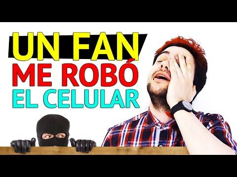 UN FAN ME ROBÓ EL CELULAR - VEDITO - YouTube