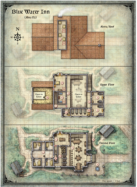 From Sketch To Print: Comparing Perkins & Schley's Maps For CURSE OF STRAHD
