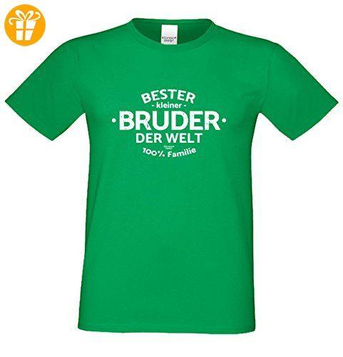 Bruder Geschenkeset Fun-T-shirt zu Weihnachten oder zum Geburtstag mit  GRATIS Urkunde -